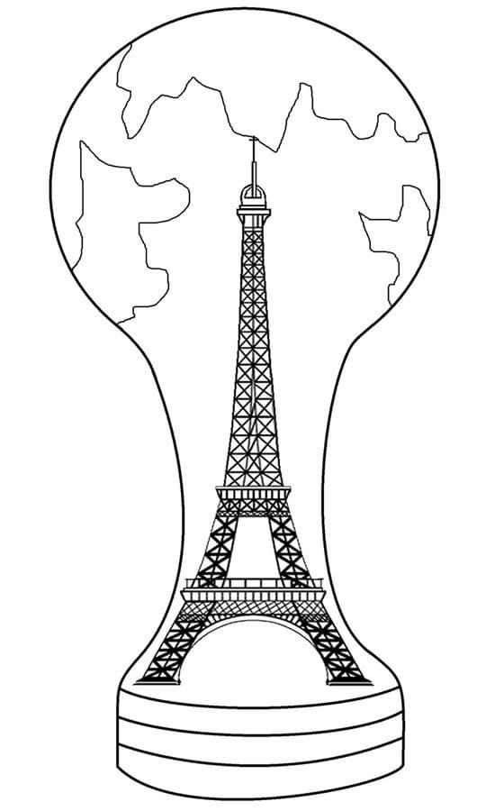 Trophy Eiffel Tower