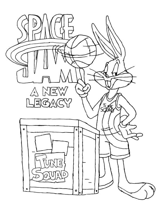 Tune Squad Bugs Bunny