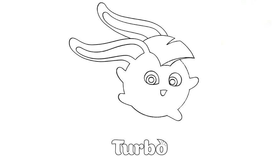 Turbo in Sunny Bunnies