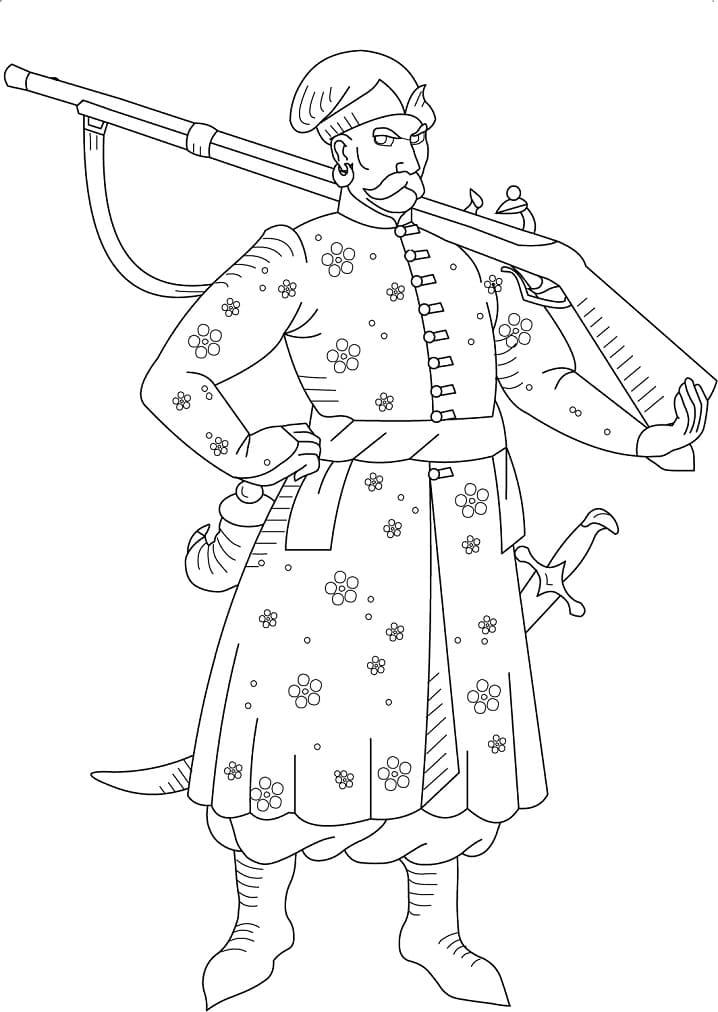 Ukrainian Cossack 1