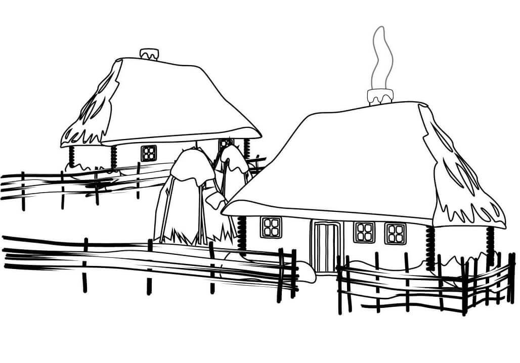 Ukrainian Traditional House