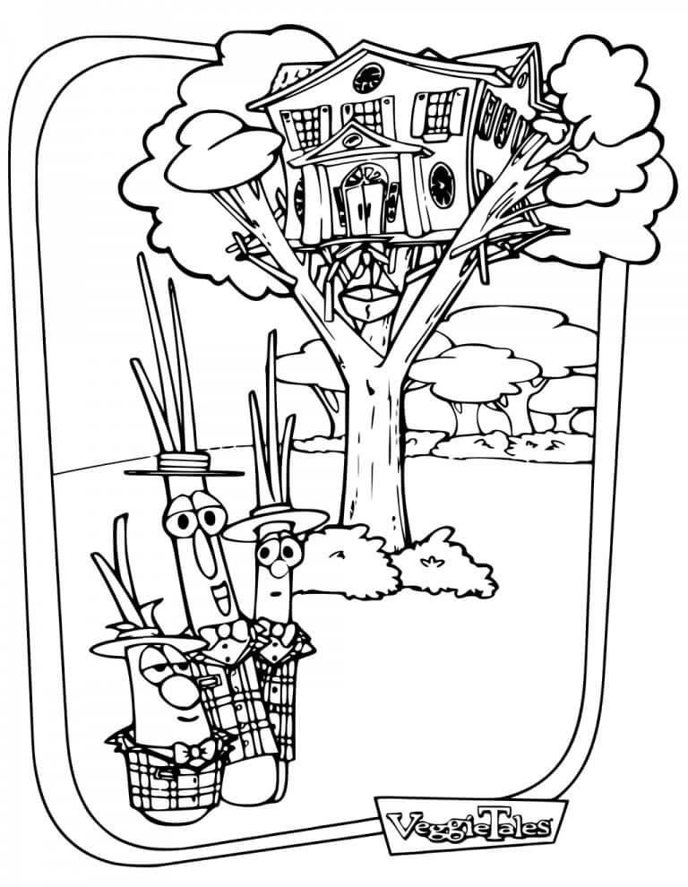 Veggie Tales Treehouse
