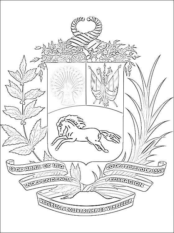 Venezuela Coat of Arms