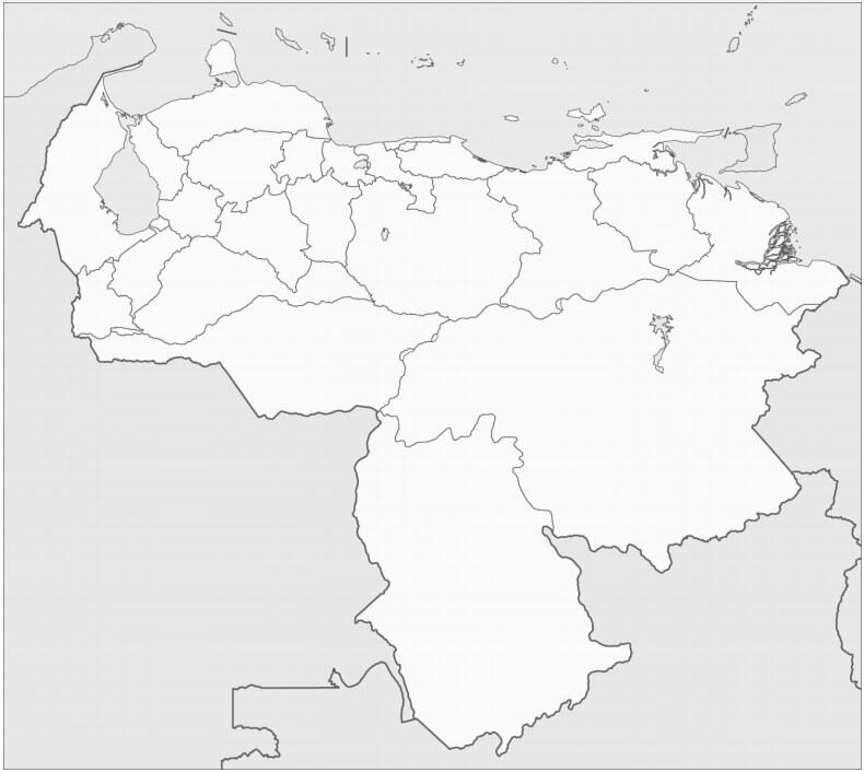 Venezuela's Map