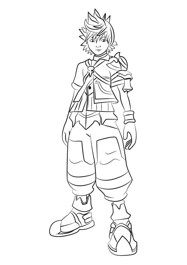 Ventus from Kingdom Hearts