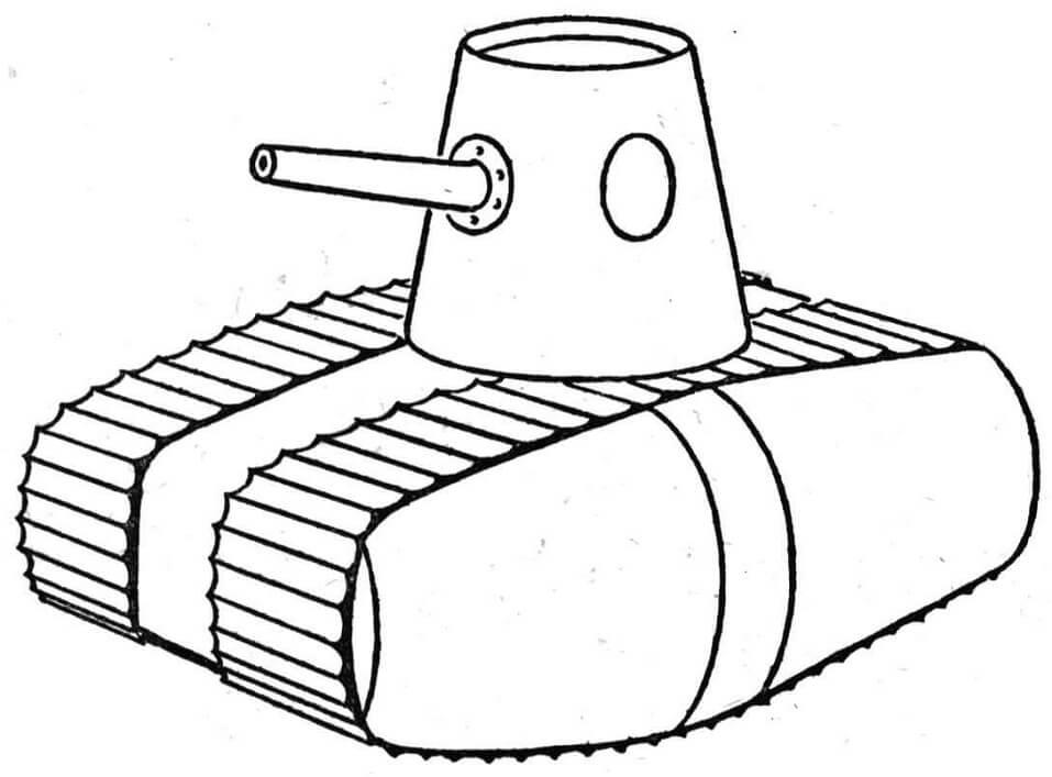 WW1 Style Tank
