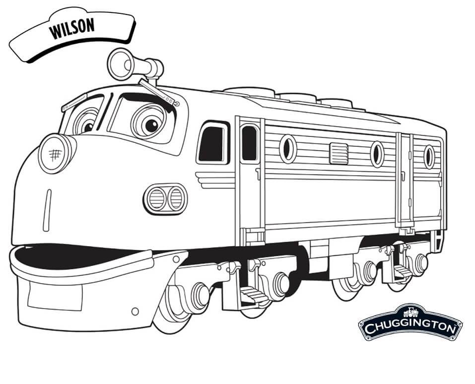 Wilson in Chuggington