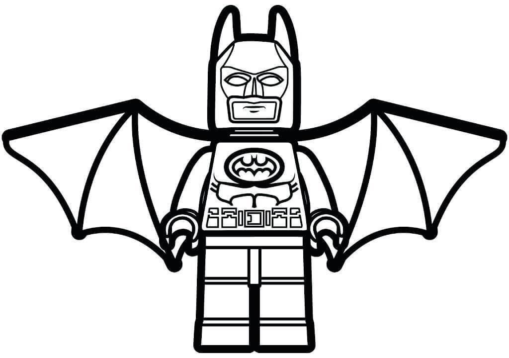 Winged Lego Batman