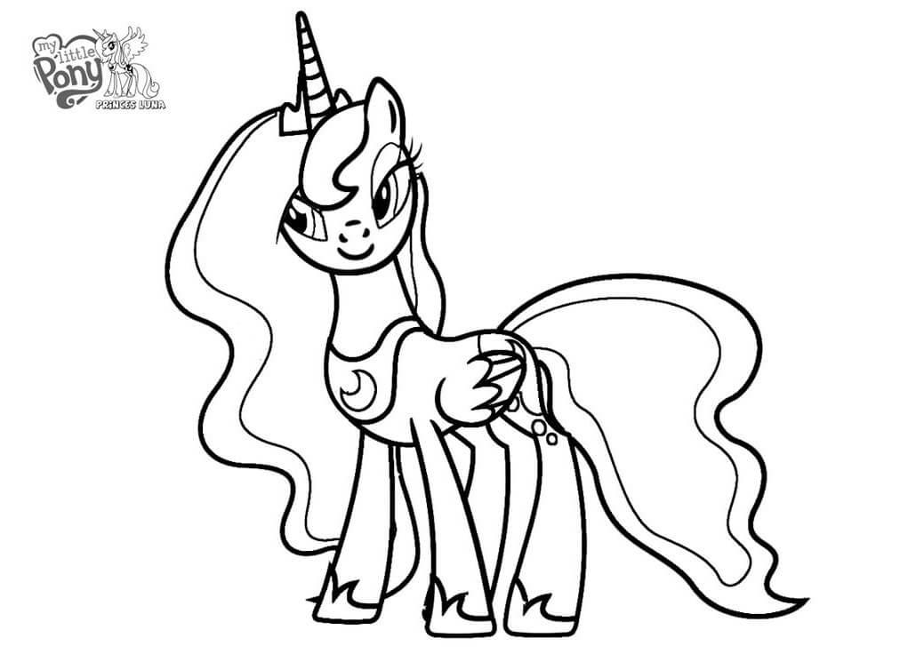 Winsome Princess Luna
