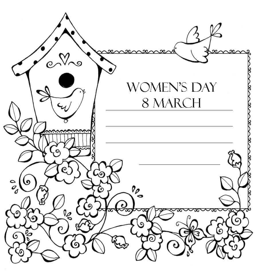 Women's Day Card 1