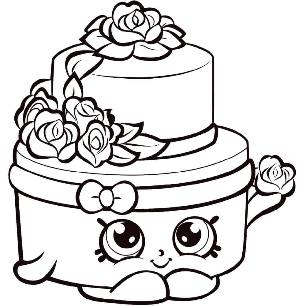 Wonda Wedding Cake Shopkin
