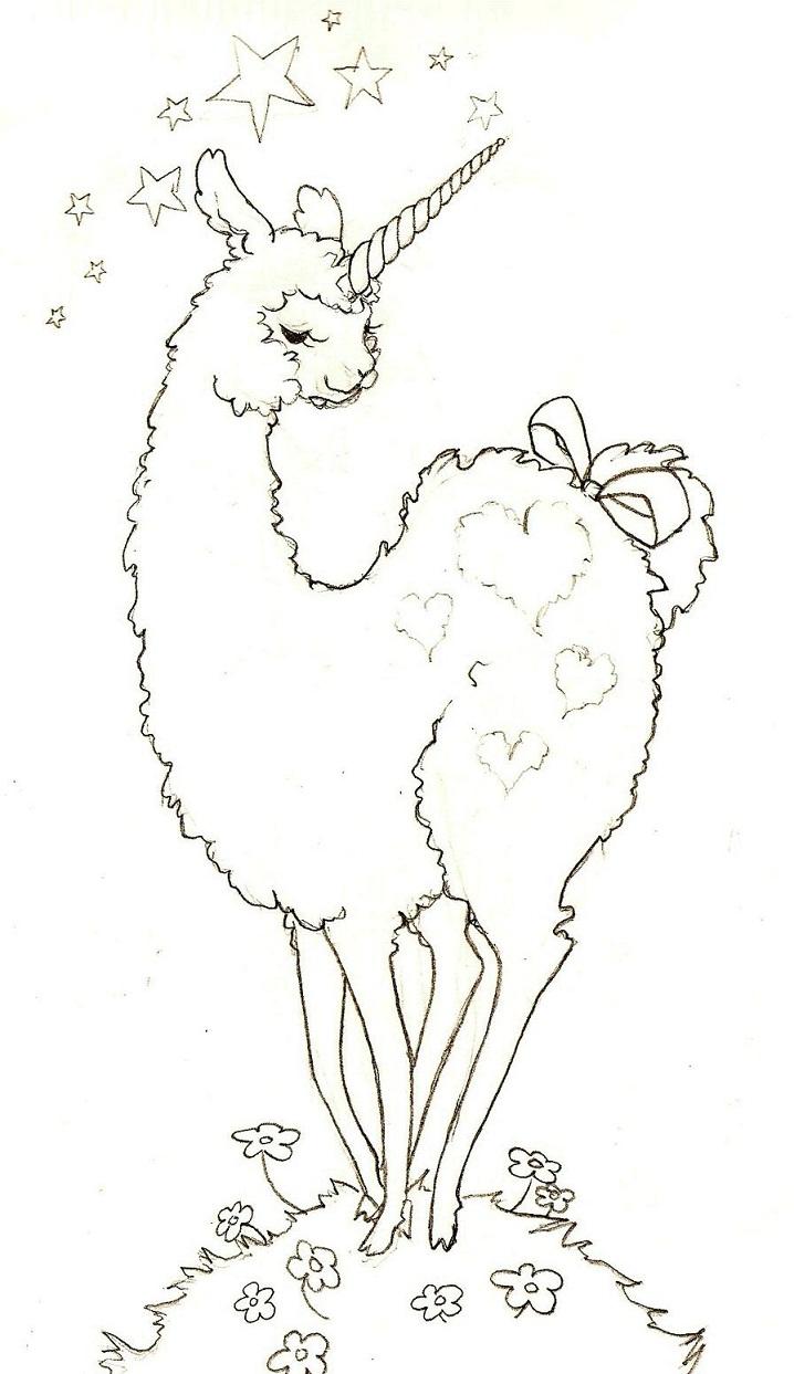 Wonderful Llamacorn