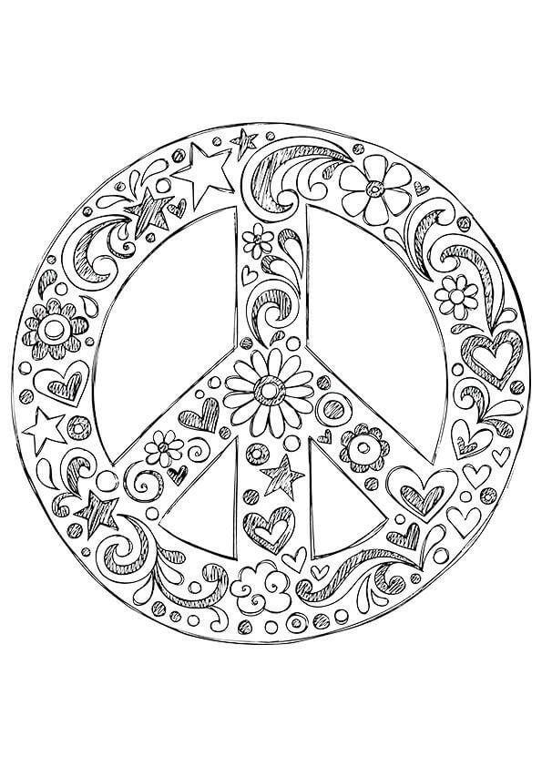 Wonderful Peace Sign