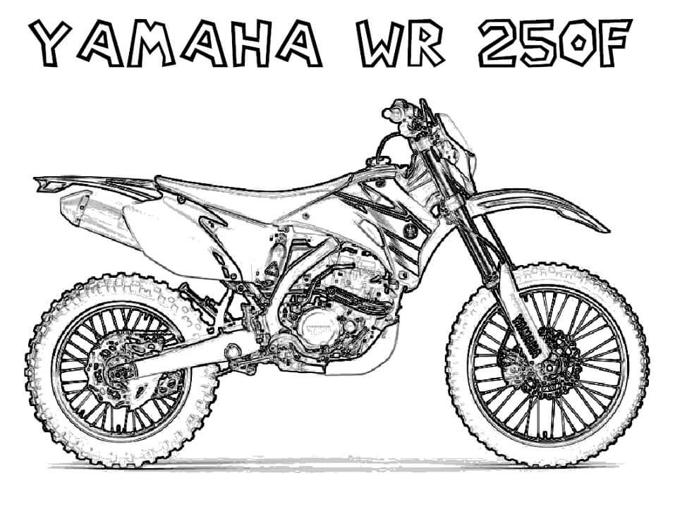 Yamaha WR 250F Dirt Bike