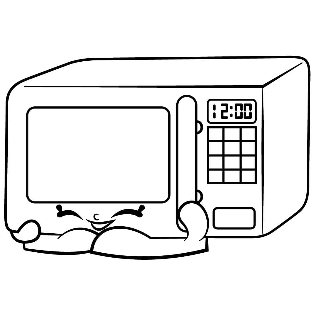 Zappy Microwave Shopkins